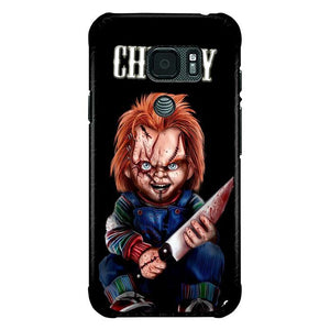 coque custodia cover fundas hoesjes j3 J5 J6 s20 s10 s9 s8 s7 s6 s5 plus edge B15575 CHUCKY B0537 Samsung Galaxy S7 Active Case
