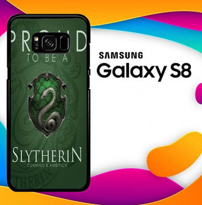 Proud To Be Slytherin F0574 custodia cover Samsung Galaxy S8