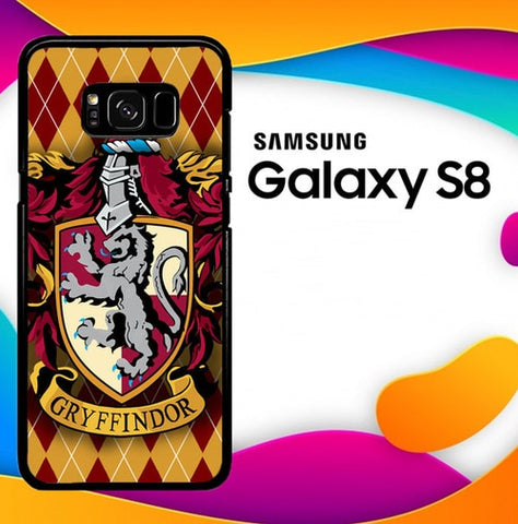 Harry Potter Quotes Gryffindor Z0193 custodia cover Samsung Galaxy S8