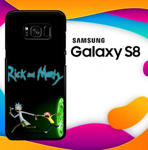 rick and morty Z4033 custodia cover Samsung Galaxy S8