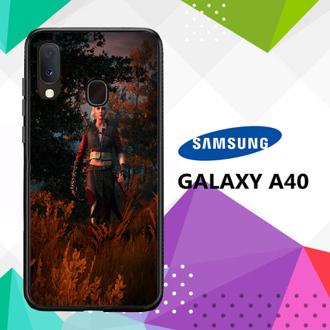 cover custodia case samsung galaxy a40 A5060 witcher 3 wallpaper 84uD2