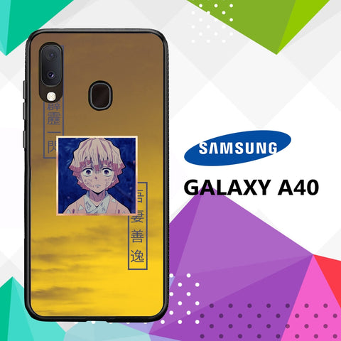 cover custodia case samsung galaxy a40 D8022 zenitsu wallpaper 89sL4