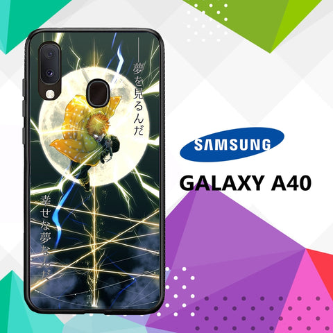 cover custodia case samsung galaxy a40 G7975 zenitsu wallpaper 89xY4
