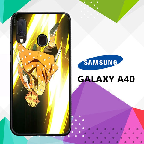 cover custodia case samsung galaxy a40 H3758 zenitsu wallpaper 89pB2