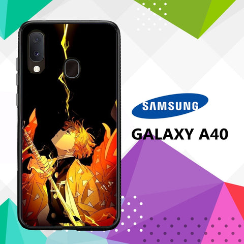cover custodia case samsung galaxy a40 H6457 zenitsu wallpaper 89wX7
