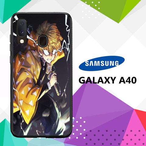 cover custodia case samsung galaxy a40 T3125 zenitsu wallpaper 89kZ2
