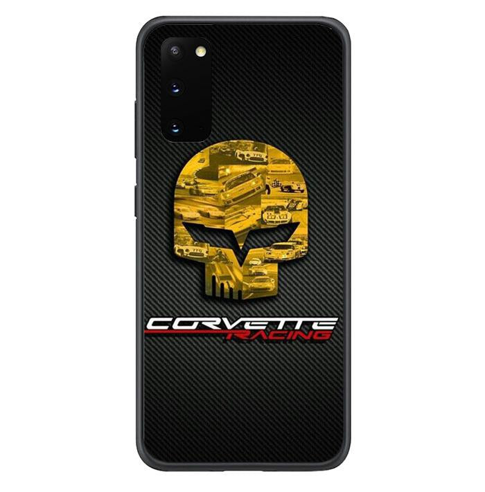 coque custodia cover fundas hoesjes j3 J5 J6 s20 s10 s9 s8 s7 s6 s5 plus edge B15935 Corvette Logo FJ0756 Samsung Galaxy S20 Case