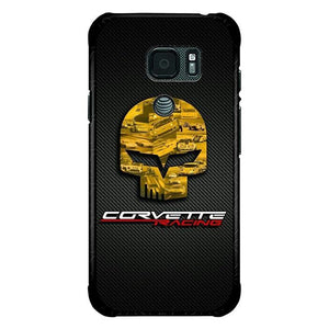 coque custodia cover fundas hoesjes j3 J5 J6 s20 s10 s9 s8 s7 s6 s5 plus edge B15919 Corvette Logo FJ0756 Samsung Galaxy S7 Active Case