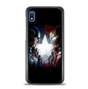 coque custodia cover fundas hoesjes j3 J5 J6 s20 s10 s9 s8 s7 s6 s5 plus edge B15631 Civil War FJ0768 Samsung Galaxy A10e Case