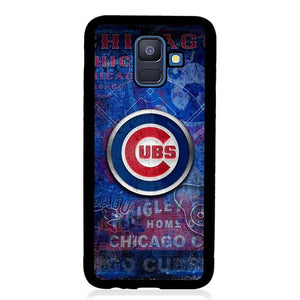 coque custodia cover fundas hoesjes j3 J5 J6 s20 s10 s9 s8 s7 s6 s5 plus edge B15407 Chicago Cubs FJ0989 Samsung Galaxy A6 2018 Case