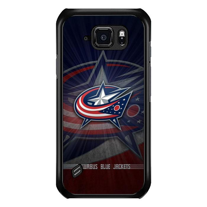 coque custodia cover fundas hoesjes j3 J5 J6 s20 s10 s9 s8 s7 s6 s5 plus edge B15782 Columbus Bluejackets FJ1018 Samsung Galaxy S6 Active Case