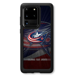 coque custodia cover fundas hoesjes j3 J5 J6 s20 s10 s9 s8 s7 s6 s5 plus edge B15801 Columbus Bluejackets FJ1018 Samsung Galaxy S20 Ultra Case