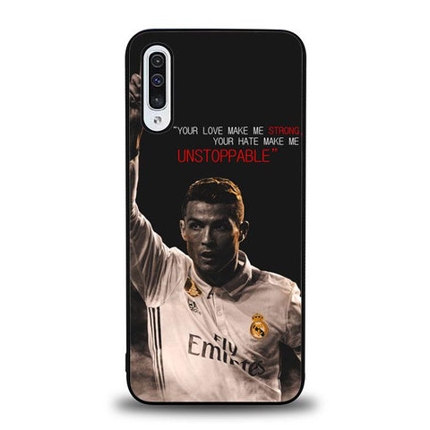 coque custodia cover fundas hoesjes j3 J5 J6 s20 s10 s9 s8 s7 s6 s5 plus edge B16145 Cristiano Ronaldo Quotes H0034 Samsung Galaxy A50 Case