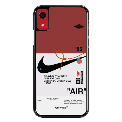 cover iphone xr nike jordan