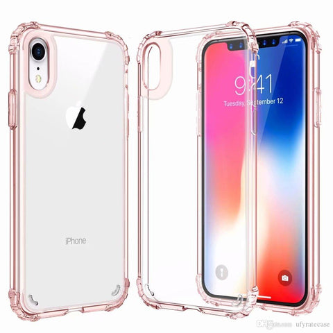 cover iphone xr rigida trasparente
