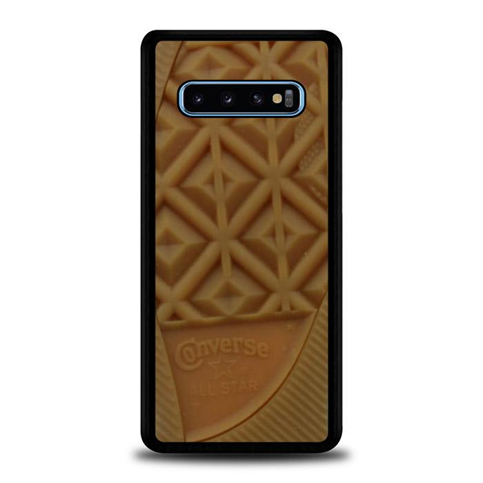 coque custodia cover fundas hoesjes j3 J5 J6 s20 s10 s9 s8 s7 s6 s5 plus edge B15868 CONVERSE BROWN SOLE J0304 Samsung Galaxy S10 Case