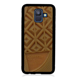 coque custodia cover fundas hoesjes j3 J5 J6 s20 s10 s9 s8 s7 s6 s5 plus edge B15866 CONVERSE BROWN SOLE J0304 Samsung Galaxy A6 2018 Case