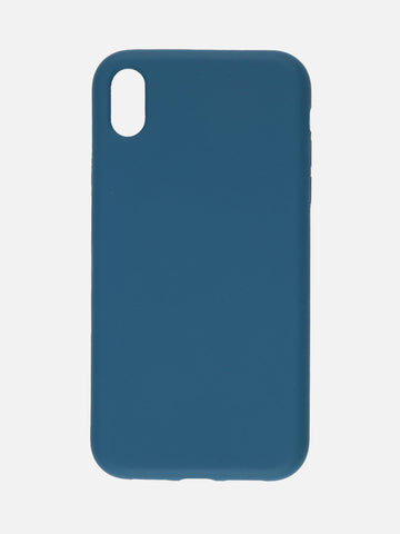 siipro Cover in silicone per iphone XR - BLU  MecShopping