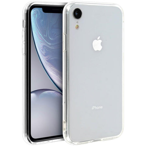cover iphone xr trasparente rigida