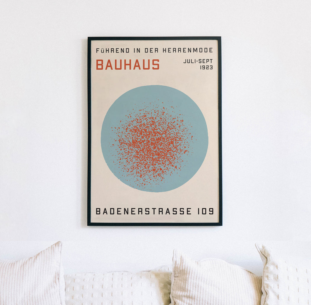 Abstract Bauhaus Print