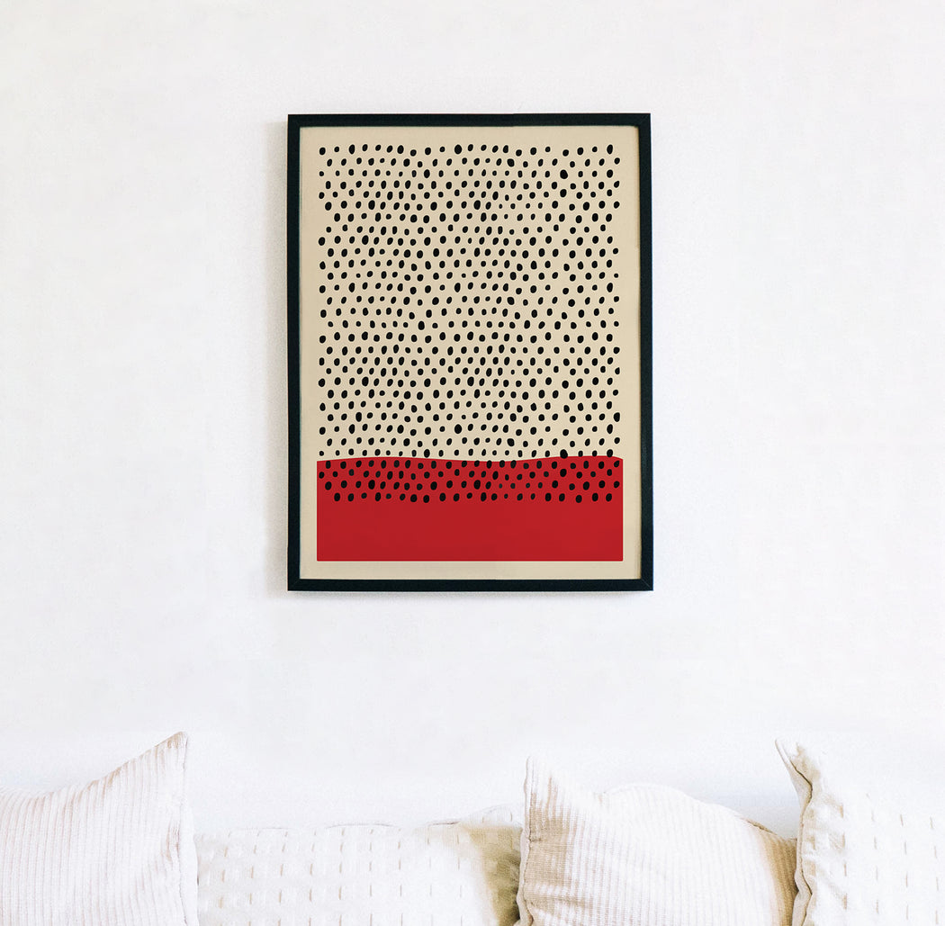 Classic Abstract Print