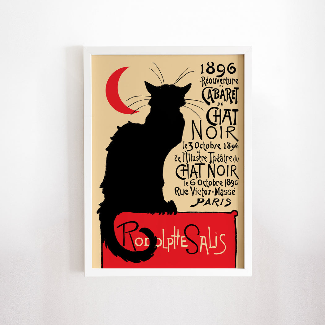 Le Chat Noir Poster - Shop posters, Art prints, Laptop Sleeves, Phone case and more Online!