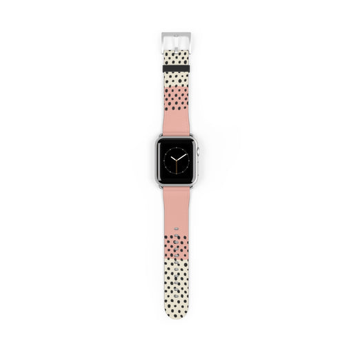 Pink Abstract Apple Watch Band