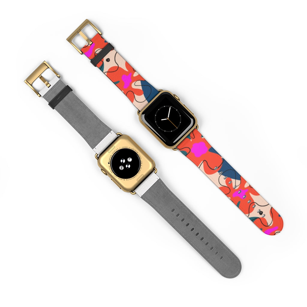 Tropical Art Apple Watch Band