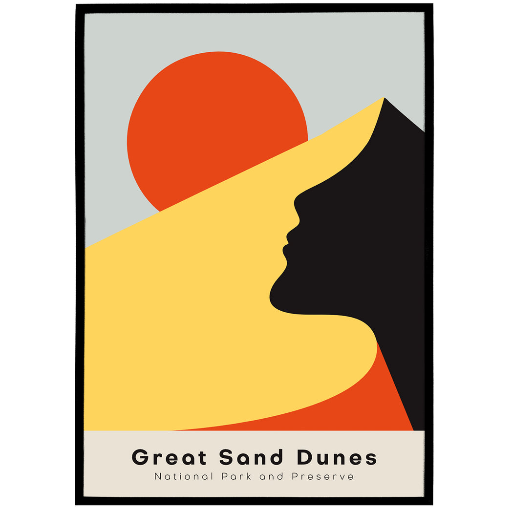 Poster Great Sand Dunes National Park and Preserve
