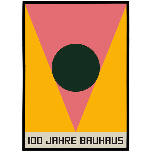 Geometric Bauhaus Poster - Shop posters, Art prints, Laptop Sleeves, Phone case and more Online!