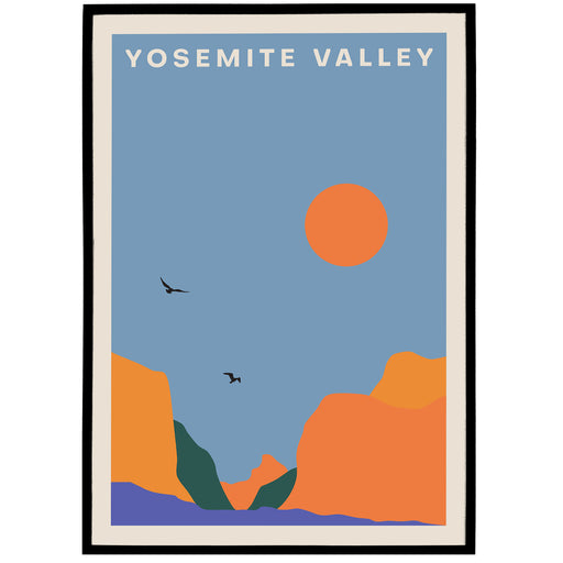 Yosemite Valley Poster - National Park