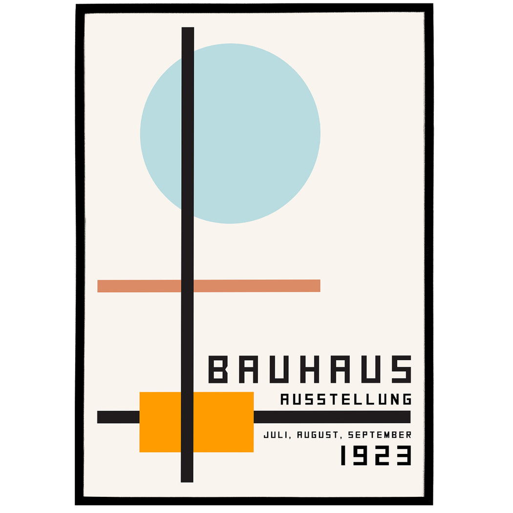 Minimalist Bauhaus Poster - Shop posters, Art prints, Laptop Sleeves, Phone case and more Online!