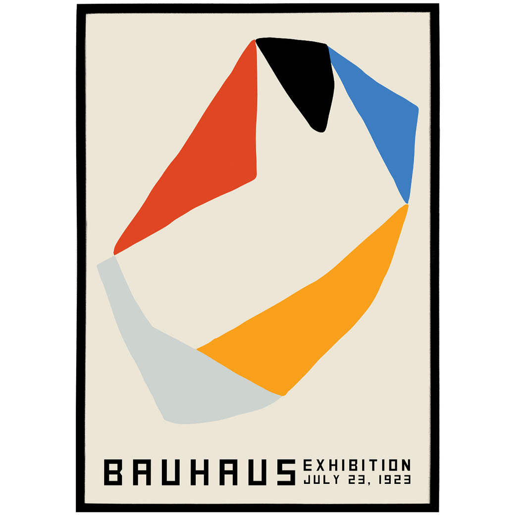 Bauhaus Poster Print - Shop posters, Art prints, Laptop Sleeves, Phone case and more Online!