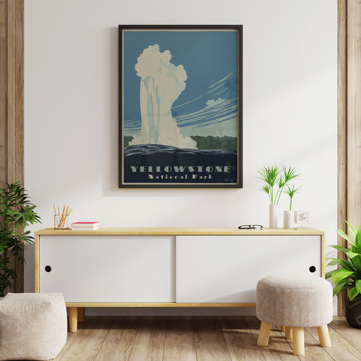Yellowstone Poster Reproduction