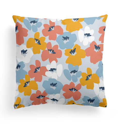 Pillow with Aesthetic Flowers