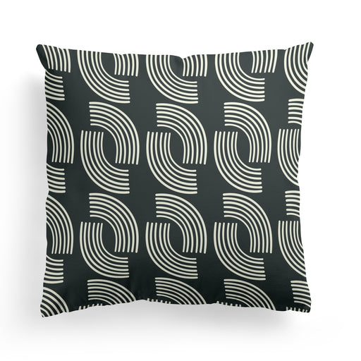 Pillow with Geometric Pattern