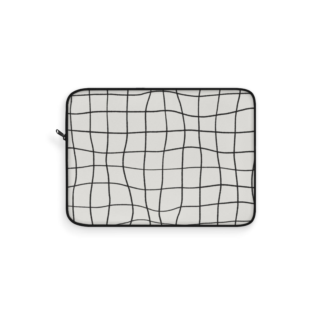 CHECKED ART LAPTOP SLEEVE