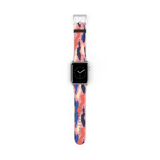 Watch Band with Colorful Art