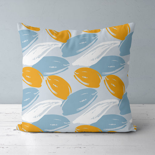 Pillow with Abstract Art