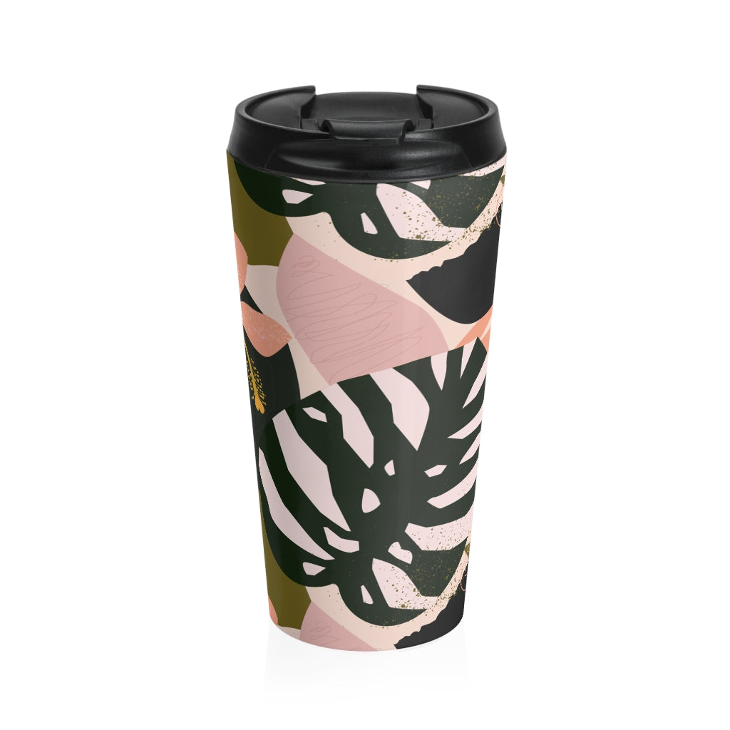 Handdrawn Floral Ilustration - Travel Mug