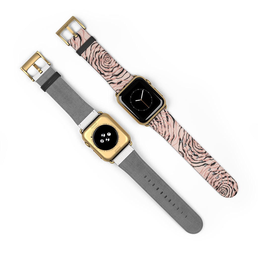 Pink Roses Apple Watch Band
