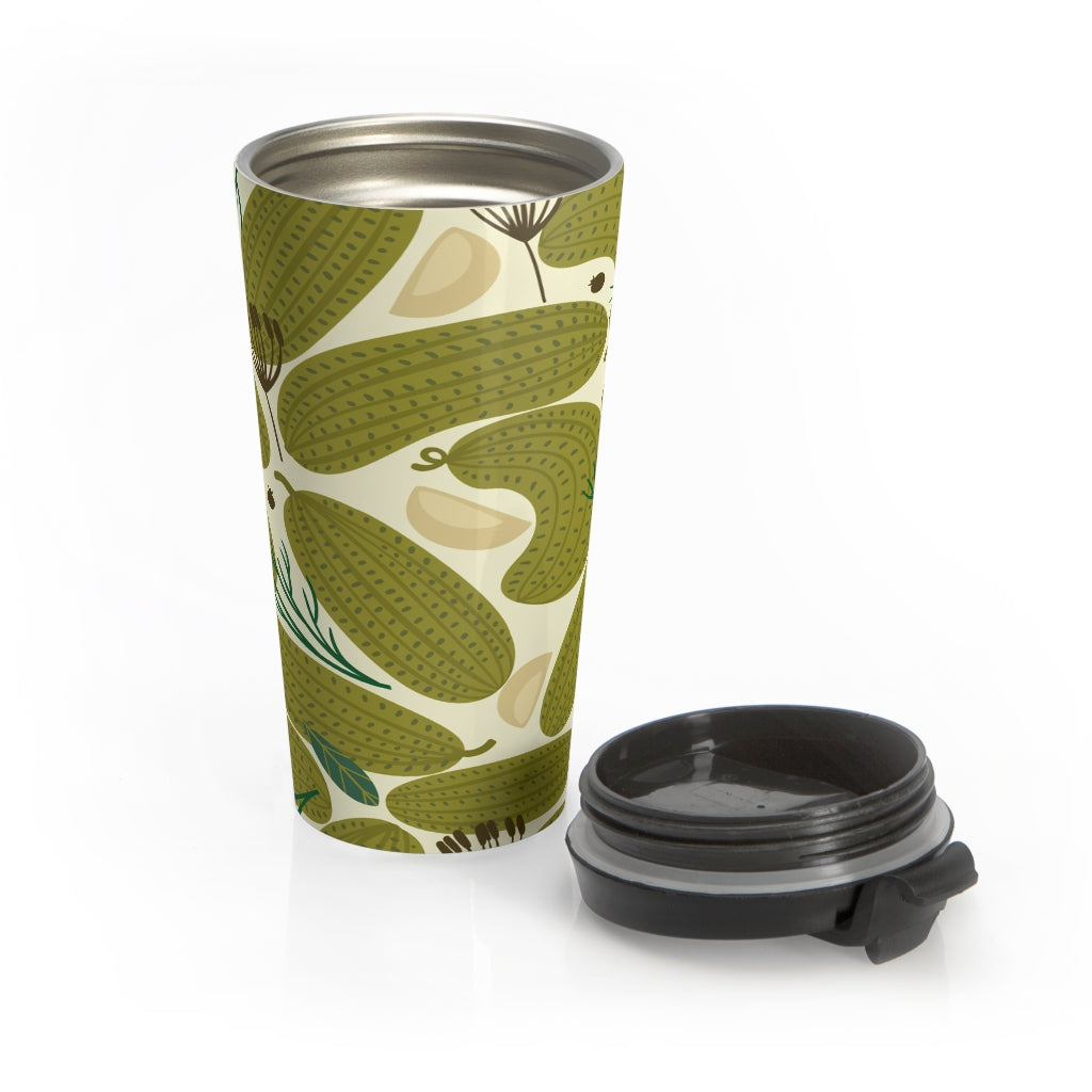Funny Cucumbers Travel Mug
