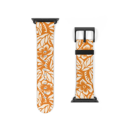 Yellow Floral Apple Watch Band