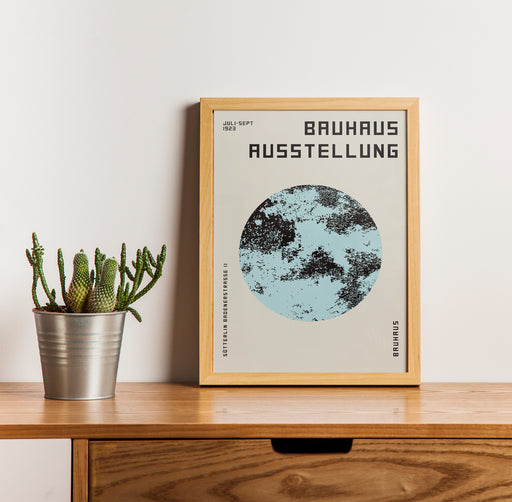 Bauhaus Exhibition Poster - Shop posters, Art prints, Laptop Sleeves, Phone case and more Online!