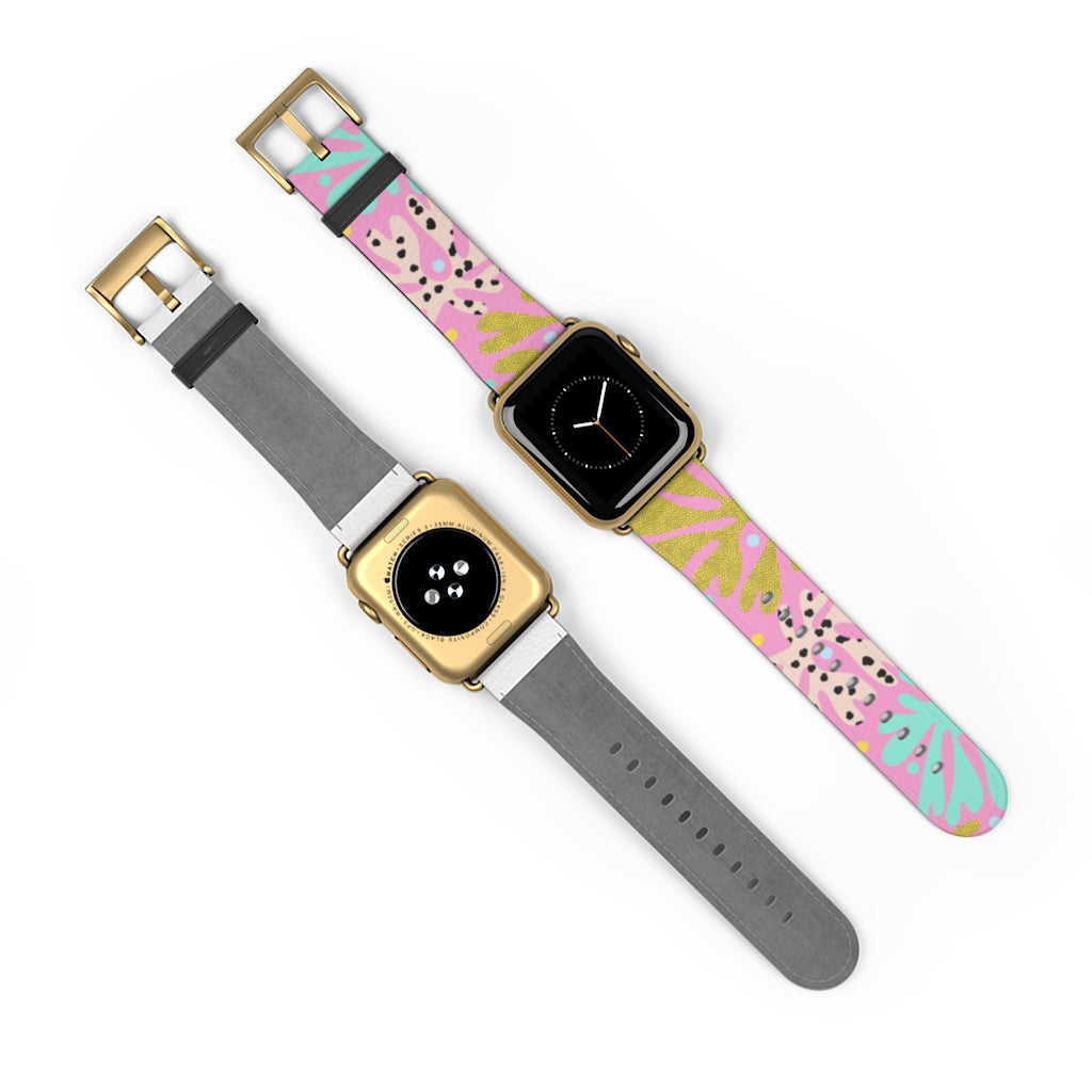 Pink Matisse Apple Watch Band