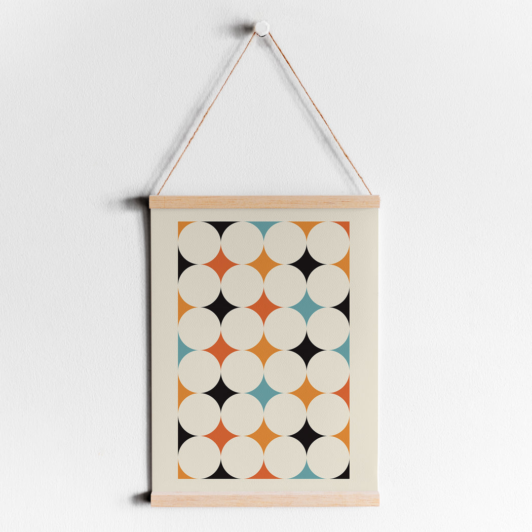 Geometric Shapes Bauhaus Poster