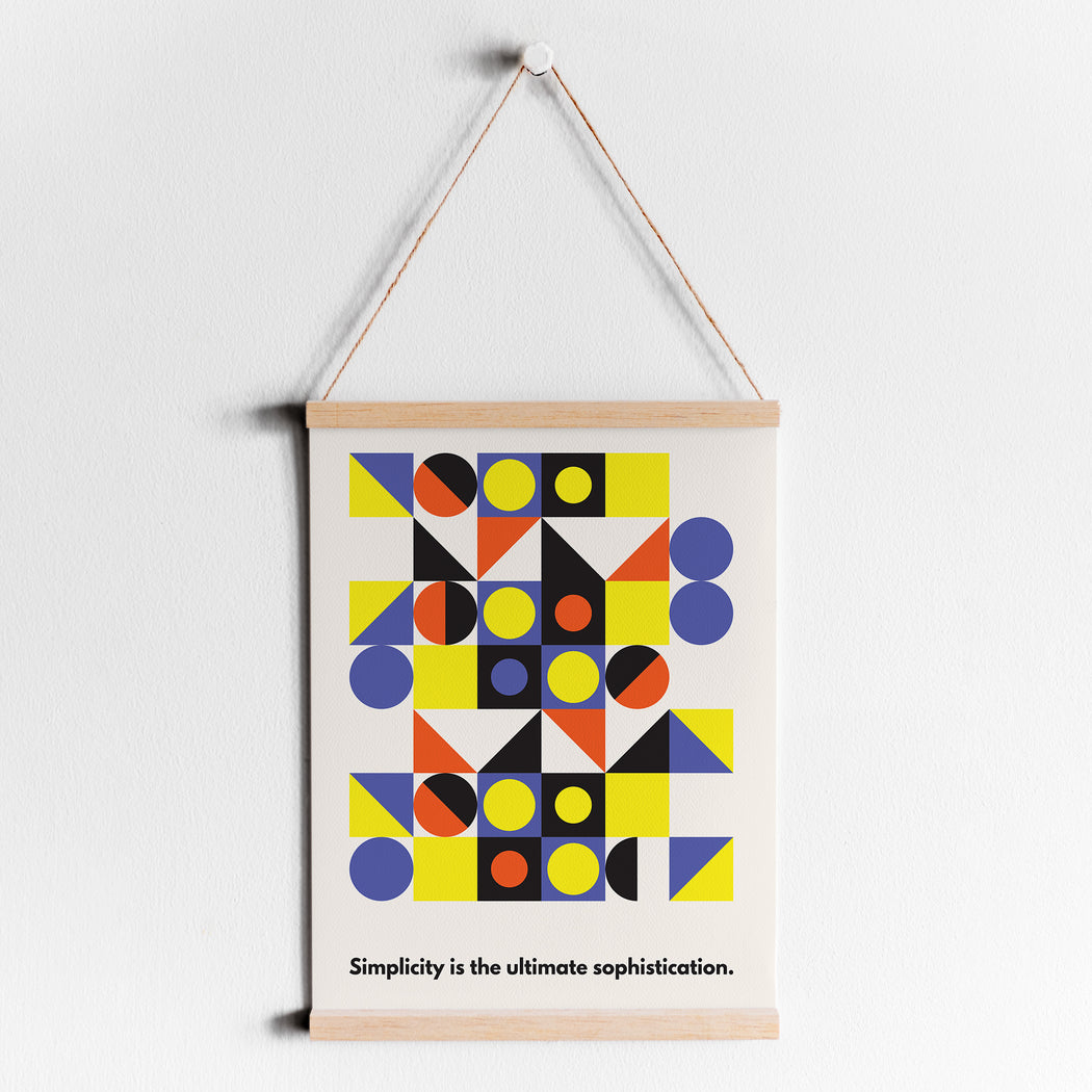 Minimalist Abstract Art Print