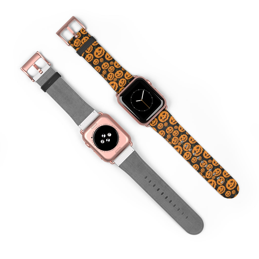 Cute Apple Watch Band with pumpkins