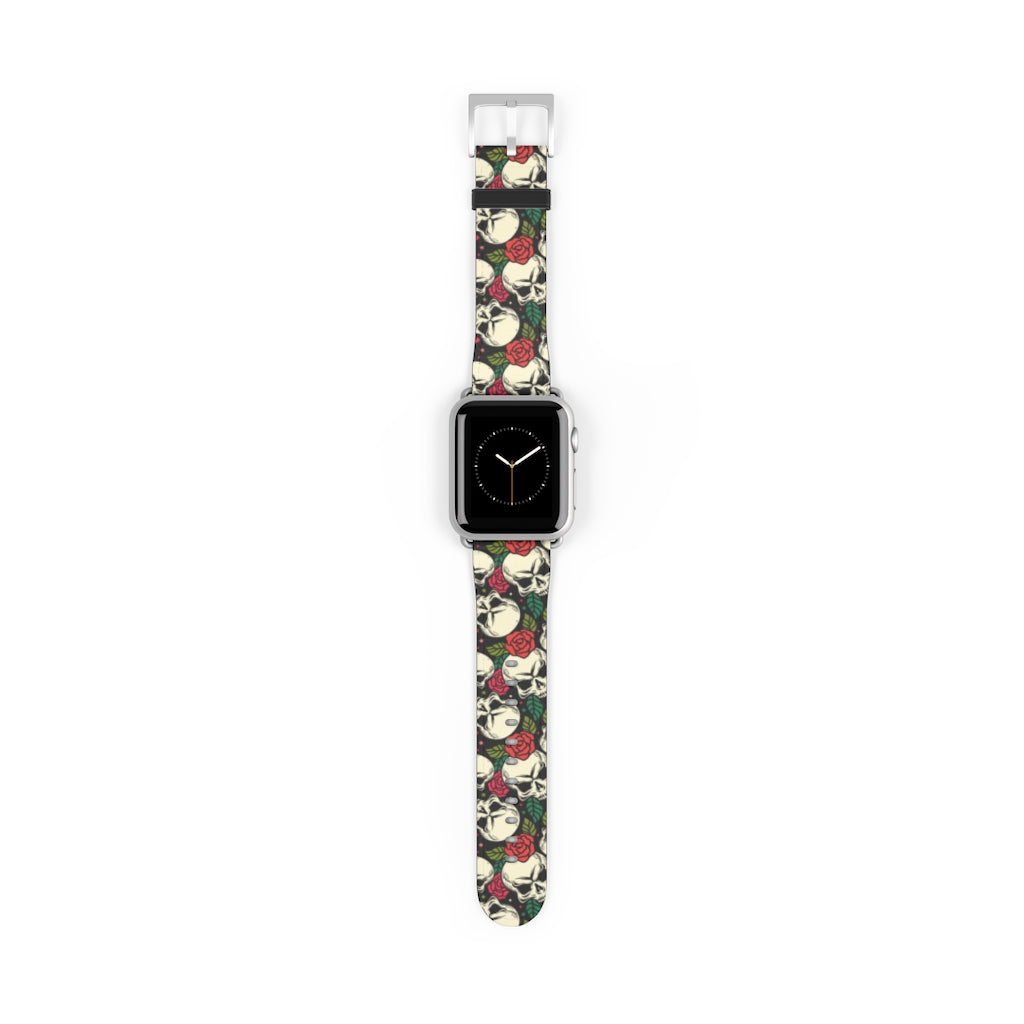 Apple Watch Band with skulls