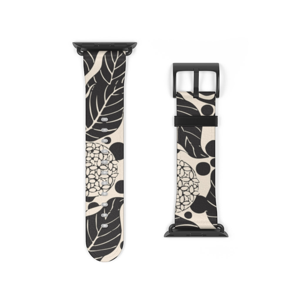 Secession Floral Apple Watch Band